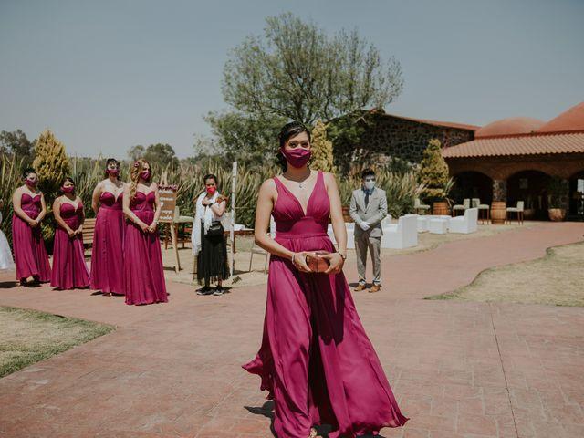 La boda de Alberto y Diana en Soyaniquilpan de Juárez, Estado México 44