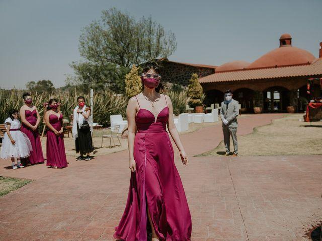 La boda de Alberto y Diana en Soyaniquilpan de Juárez, Estado México 46