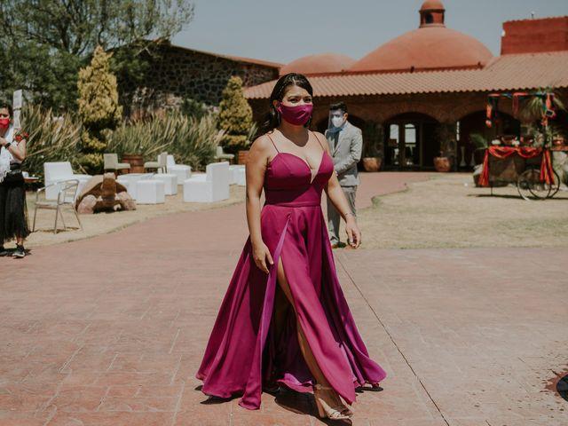 La boda de Alberto y Diana en Soyaniquilpan de Juárez, Estado México 47