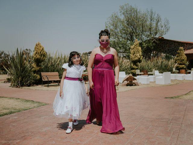 La boda de Alberto y Diana en Soyaniquilpan de Juárez, Estado México 48
