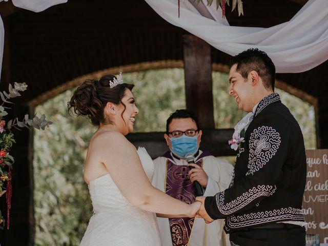 La boda de Alberto y Diana en Soyaniquilpan de Juárez, Estado México 56