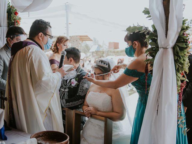 La boda de Alberto y Diana en Soyaniquilpan de Juárez, Estado México 57