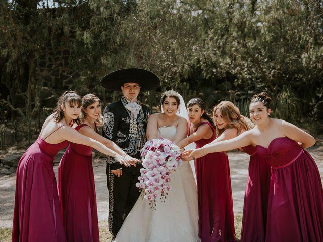 La boda de Alberto y Diana en Soyaniquilpan de Juárez, Estado México 67
