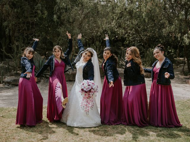 La boda de Alberto y Diana en Soyaniquilpan de Juárez, Estado México 74