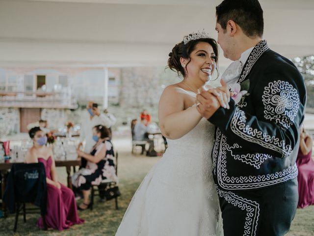 La boda de Alberto y Diana en Soyaniquilpan de Juárez, Estado México 82