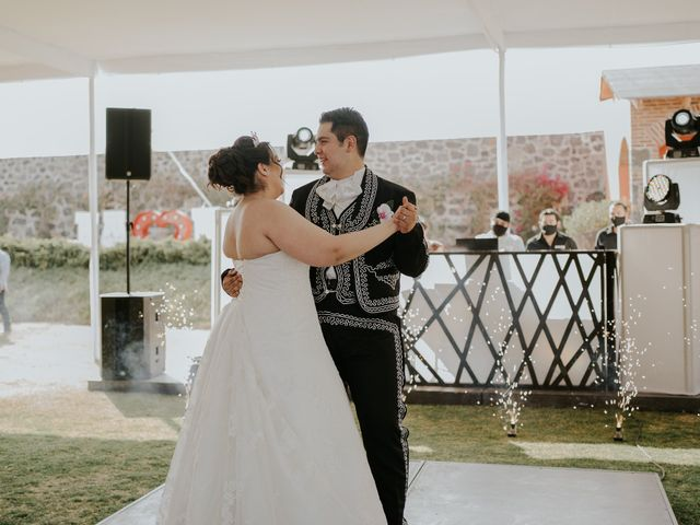 La boda de Alberto y Diana en Soyaniquilpan de Juárez, Estado México 84