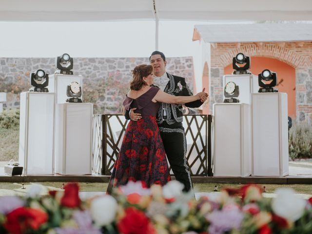 La boda de Alberto y Diana en Soyaniquilpan de Juárez, Estado México 88