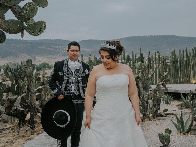 La boda de Alberto y Diana en Soyaniquilpan de Juárez, Estado México 98