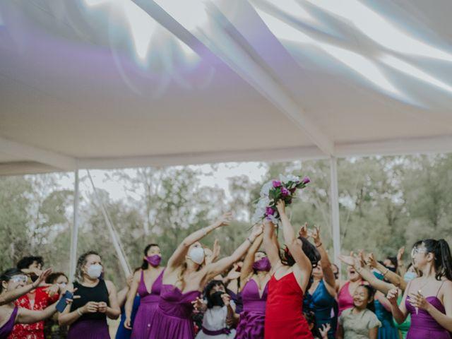 La boda de Alberto y Diana en Soyaniquilpan de Juárez, Estado México 104