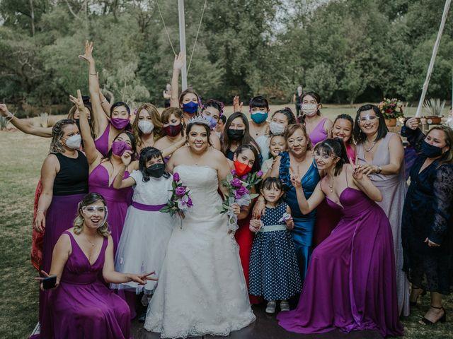 La boda de Alberto y Diana en Soyaniquilpan de Juárez, Estado México 105