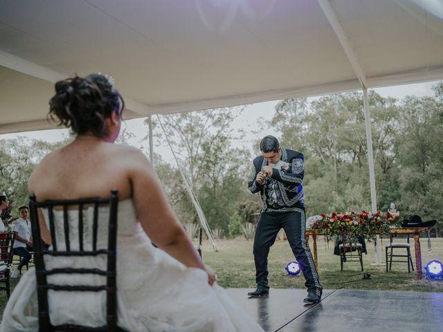 La boda de Alberto y Diana en Soyaniquilpan de Juárez, Estado México 106