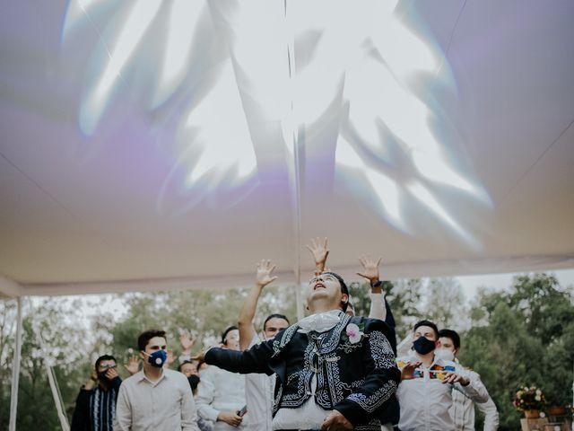 La boda de Alberto y Diana en Soyaniquilpan de Juárez, Estado México 111