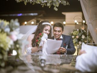 La boda de Andrea y Román