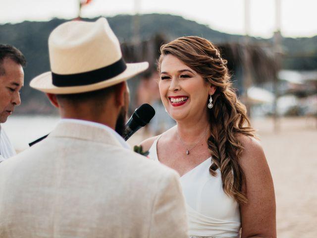 La boda de Joel y Sony en Huatulco, Oaxaca 27