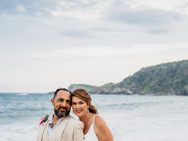 La boda de Joel y Sony en Huatulco, Oaxaca 49