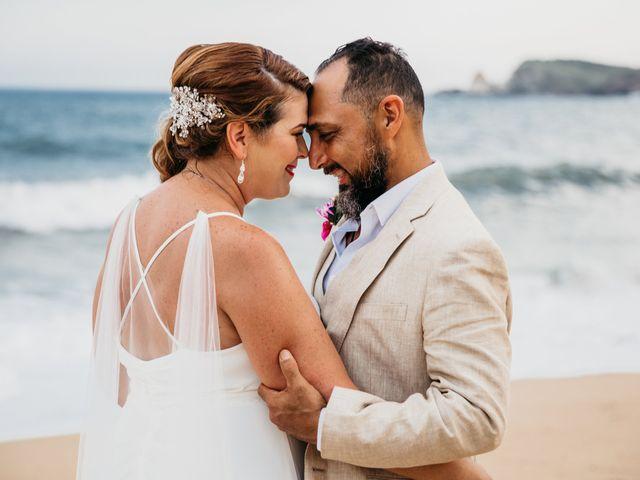 La boda de Joel y Sony en Huatulco, Oaxaca 52
