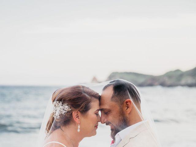 La boda de Joel y Sony en Huatulco, Oaxaca 53