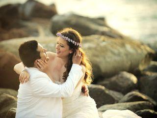 La boda de Araceli y Christian