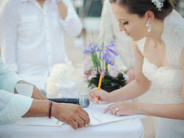 La boda de Christian y Araceli en Puerto Vallarta, Jalisco 34