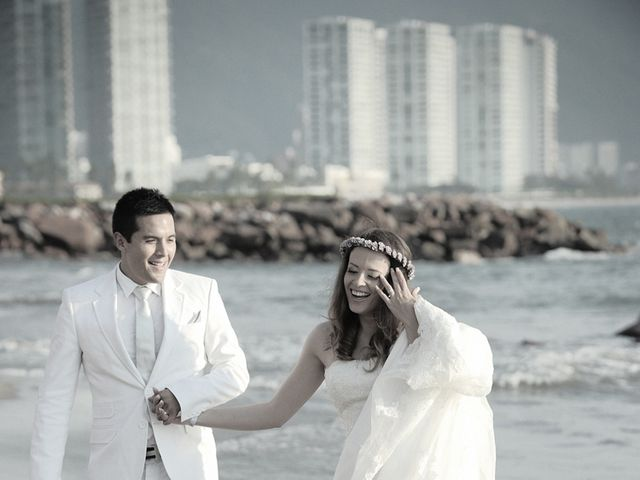 La boda de Christian y Araceli en Puerto Vallarta, Jalisco 52