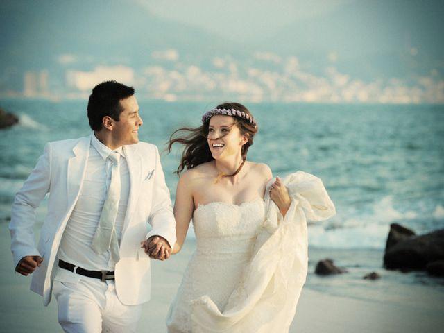 La boda de Christian y Araceli en Puerto Vallarta, Jalisco 55