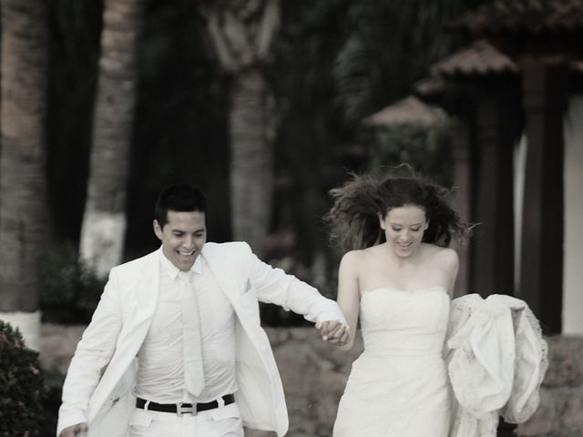 La boda de Christian y Araceli en Puerto Vallarta, Jalisco 66