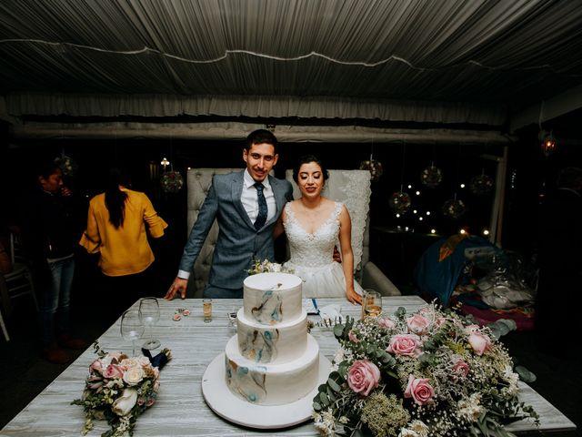 La boda de Alix y Leo
