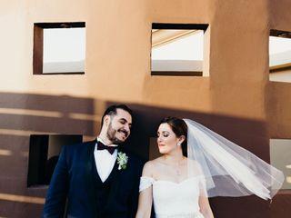 La boda de Andrea Lara y David Perez
