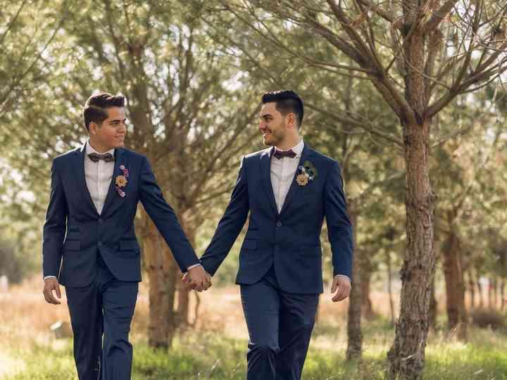 La boda de Carlos y Raul