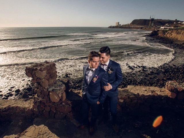 La boda de Raul y Carlos en Rosarito, Baja California 14
