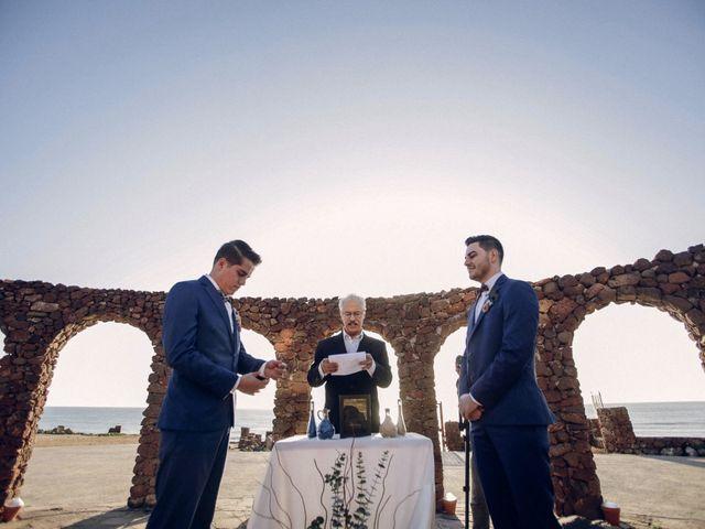 La boda de Raul y Carlos en Rosarito, Baja California 19
