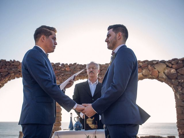 La boda de Raul y Carlos en Rosarito, Baja California 20