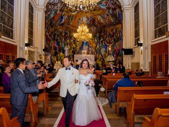 La boda de Sergio y Dulce María en Benito Juárez, Ciudad de México 1