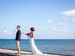 La boda de Yazmín y Guido 1
