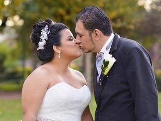 La boda de Andrea y Samir 1