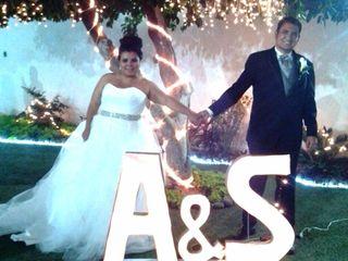 La boda de Andrea y Samir