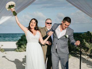 La boda de Sabrina y Colt