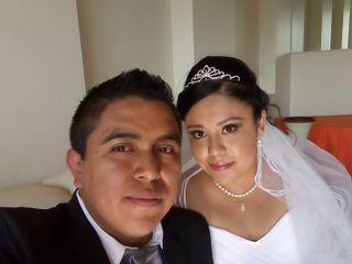 La boda de Claudia Lucero  y Juan César