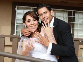 La boda de Melina y Jehovani