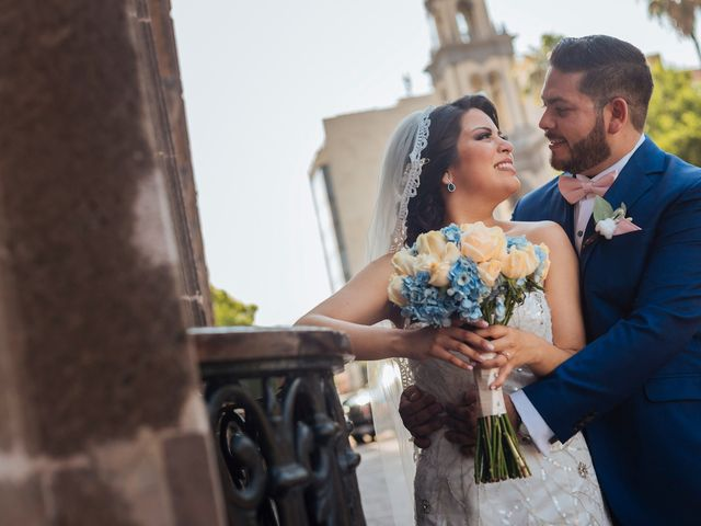 La boda de Deborah y Eliasib