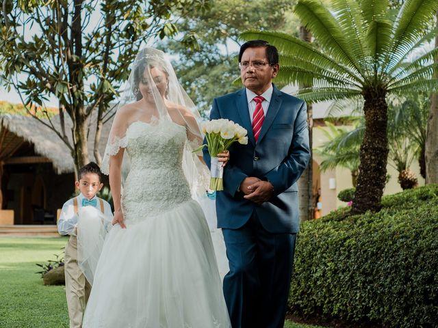 La boda de Emilio y Erandi en Jiutepec, Morelos 14