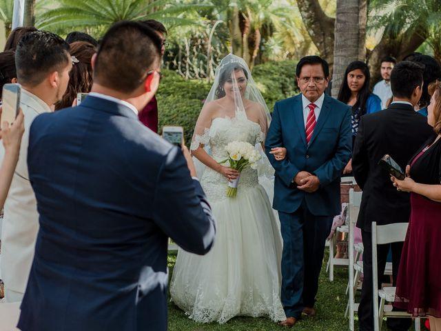 La boda de Emilio y Erandi en Jiutepec, Morelos 15