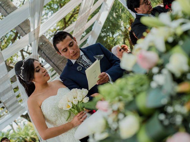 La boda de Emilio y Erandi en Jiutepec, Morelos 19
