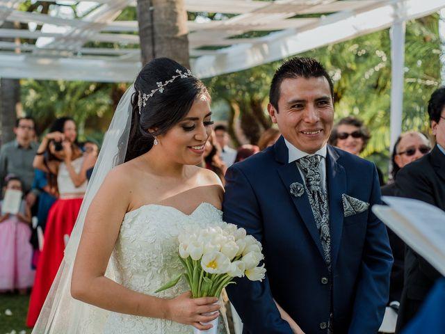 La boda de Emilio y Erandi en Jiutepec, Morelos 22