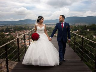La boda de Aldo y Nadia
