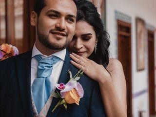 La boda de Xareny y Fabián