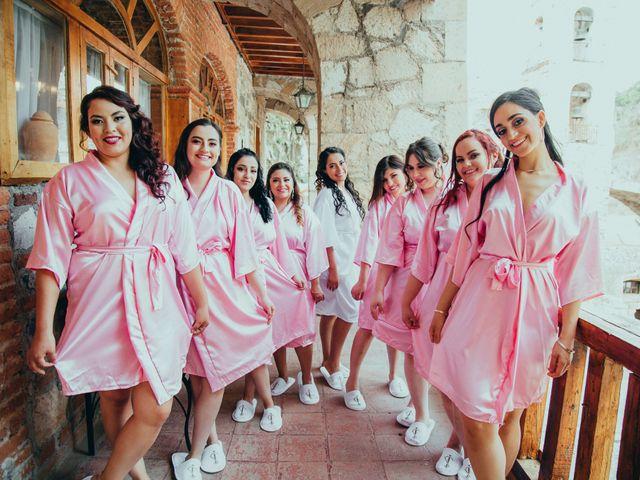 La boda de Israel y Samantha en Huasca de Ocampo, Hidalgo 10