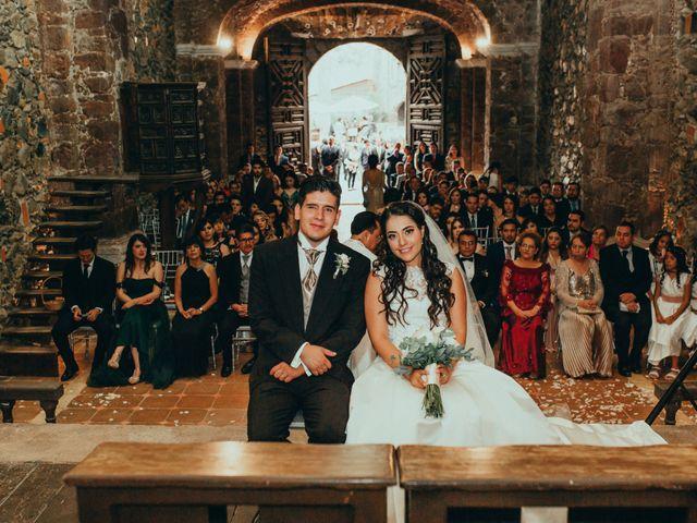 La boda de Israel y Samantha en Huasca de Ocampo, Hidalgo 32