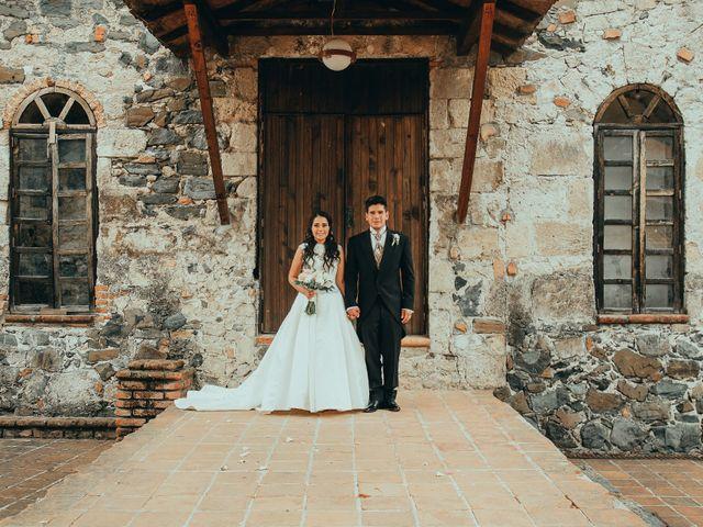 La boda de Israel y Samantha en Huasca de Ocampo, Hidalgo 35