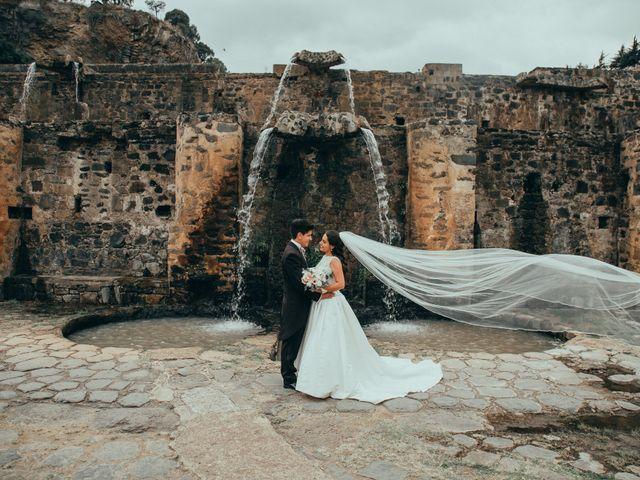 La boda de Israel y Samantha en Huasca de Ocampo, Hidalgo 40